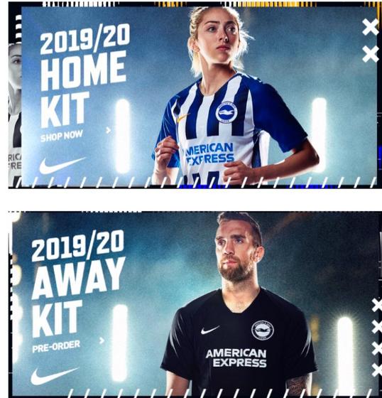 nuova maglia brighton hove albion kit 2019-2020 – Maglie calcio ...